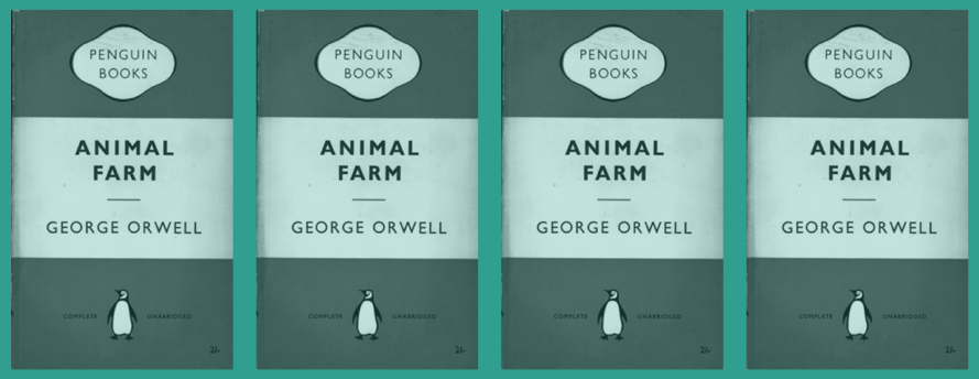 An image of the Penguin book cover design